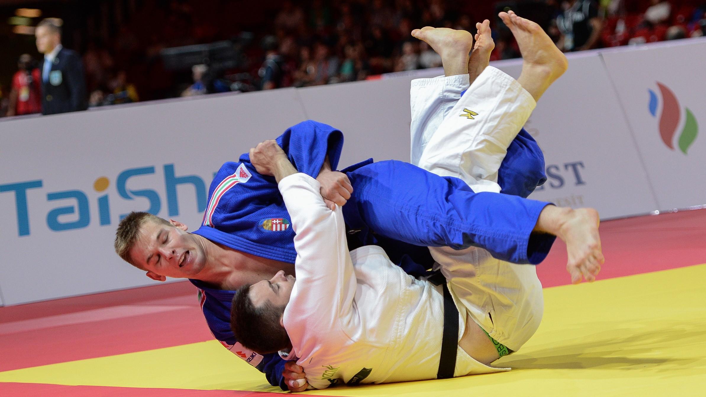 Cselgáncs-vk - Ohát Zalán aranyérmes Madridban