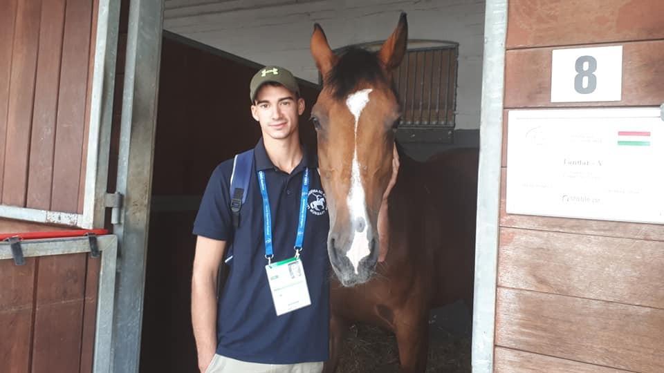 Bence Balázs ötödik a lovassportok világünnepén