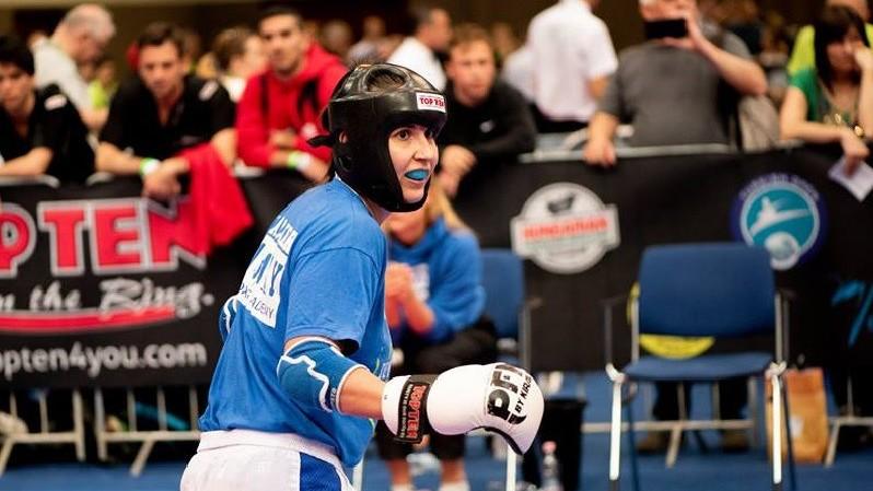 Címvédésre gyúr a budapesti világkupa legjobb női kick-boxosa
