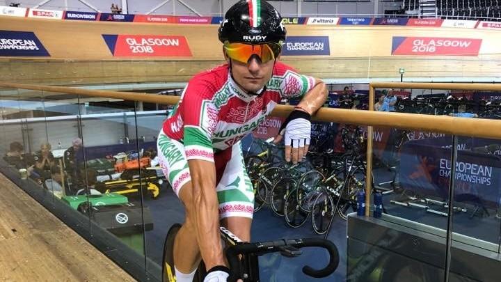 Kerékpár Eb - Lovassy Krisztián 16. lett omniumban