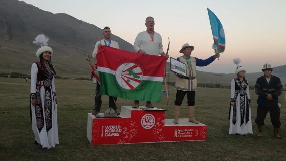 Megszületett az első magyar aranyérem a Nomád Világjátékokon