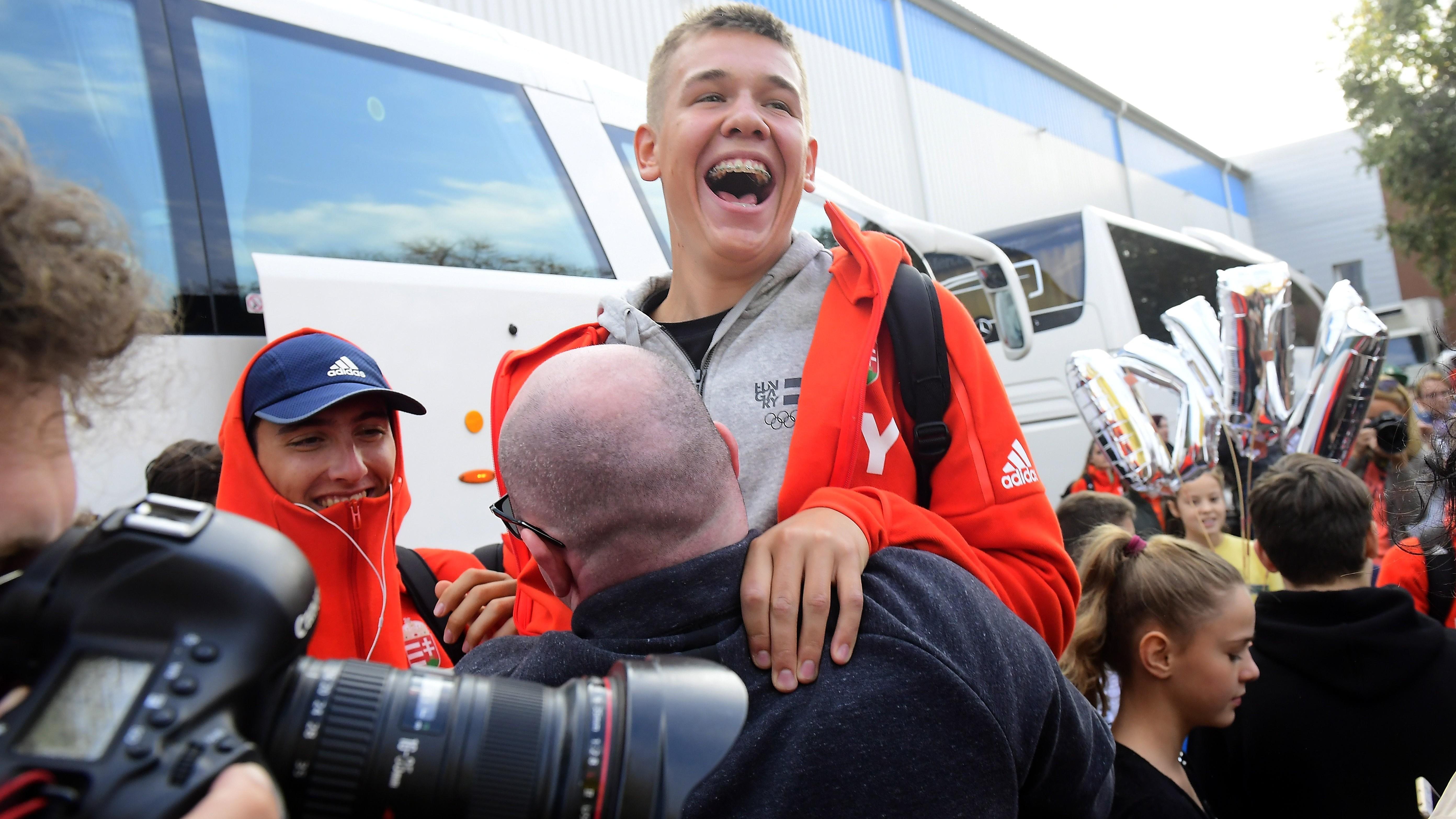 Ifjúsági olimpia - Hazaérkezett Buenos Airesből a magyar küldöttség