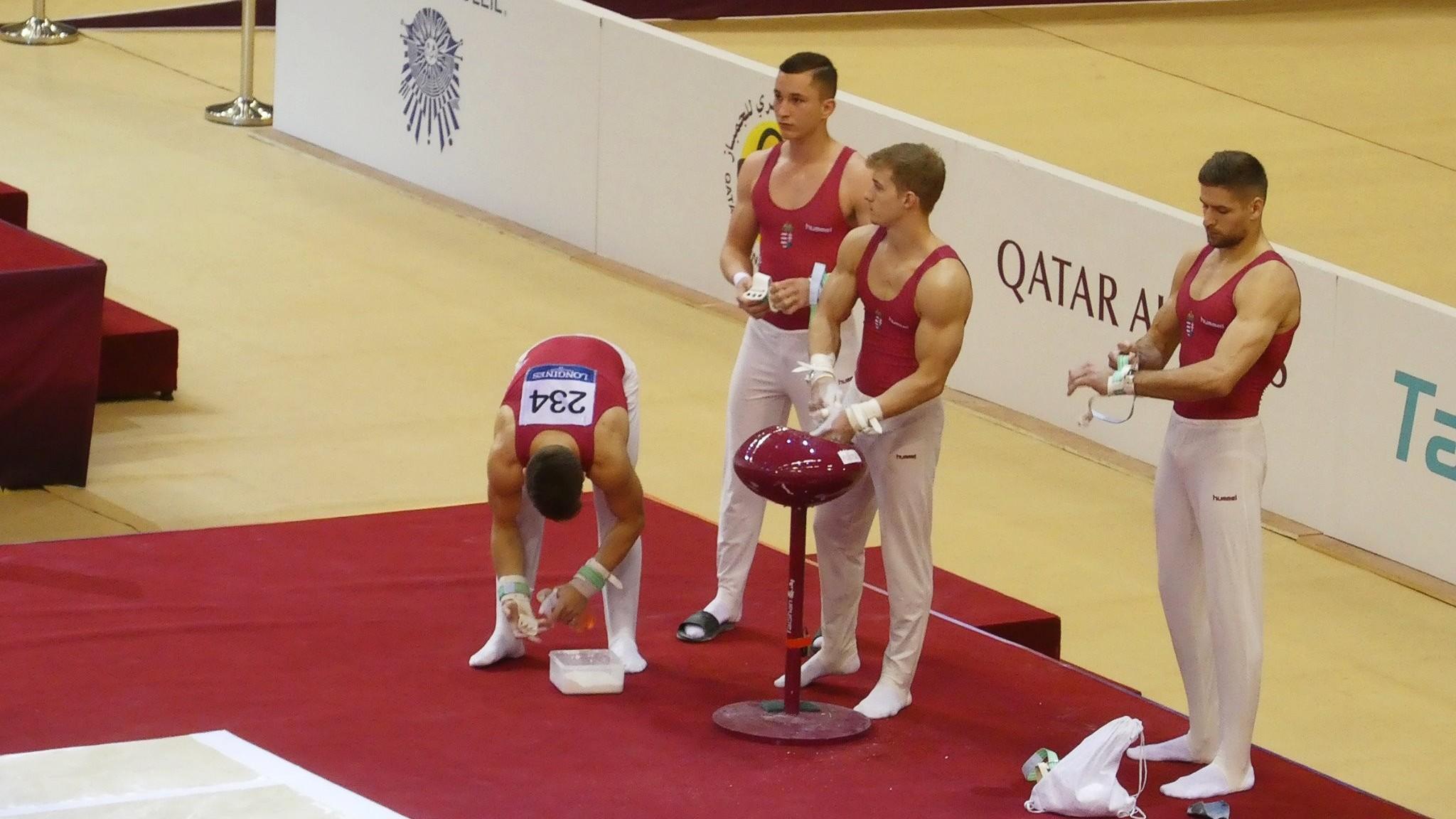 Vb kvótát szerzett a férfi tornász-válogatott