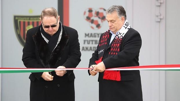 Felavatták a Magyar Futball Akadémiát
