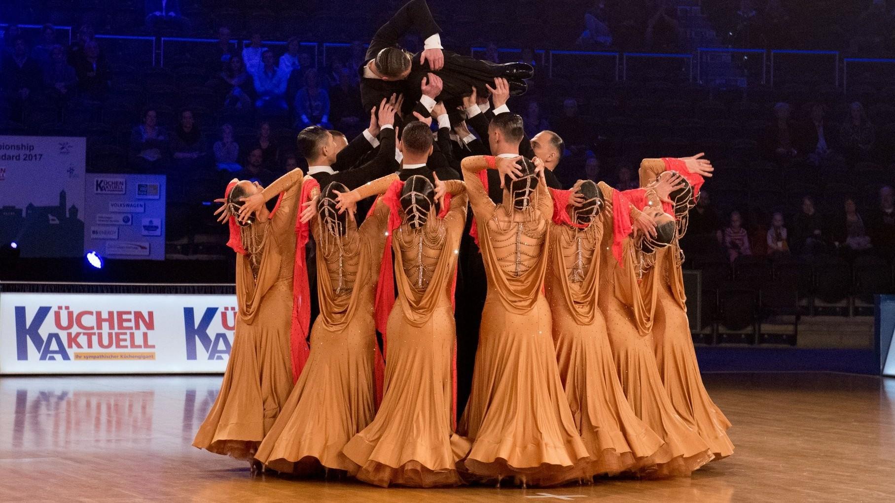 Standard Táncok Formációs Világbajnoksága Pécsen