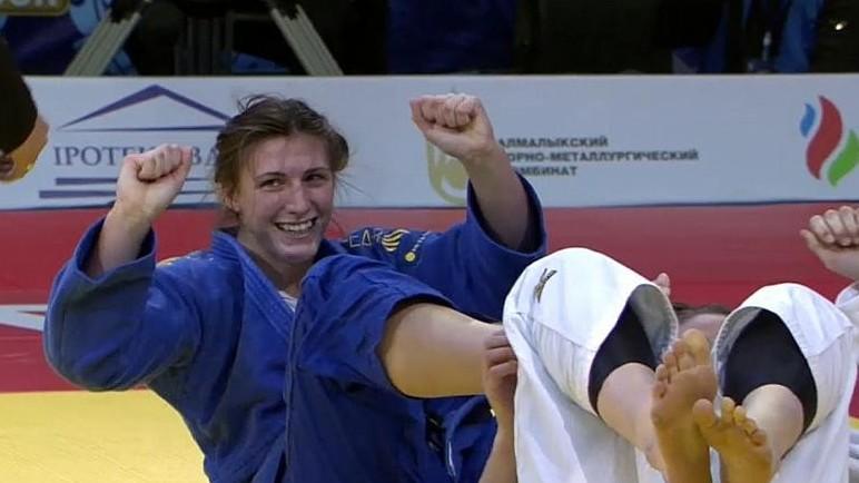 Gercsák Szabina bronzérmet nyert