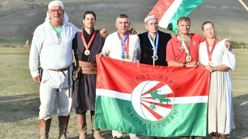 Köszöntötték a III. Nomád Világjátékok résztvevőit