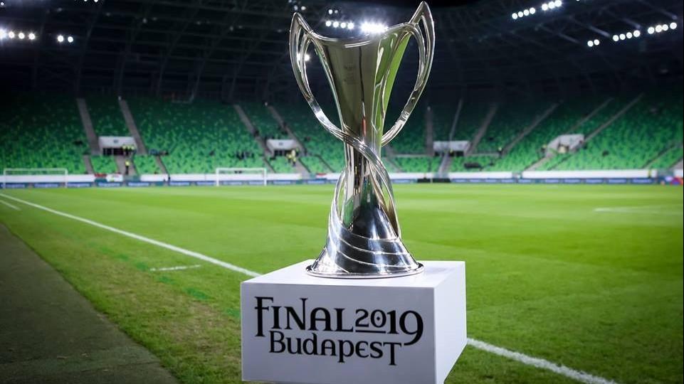 Budapesten a női BL-trófeája