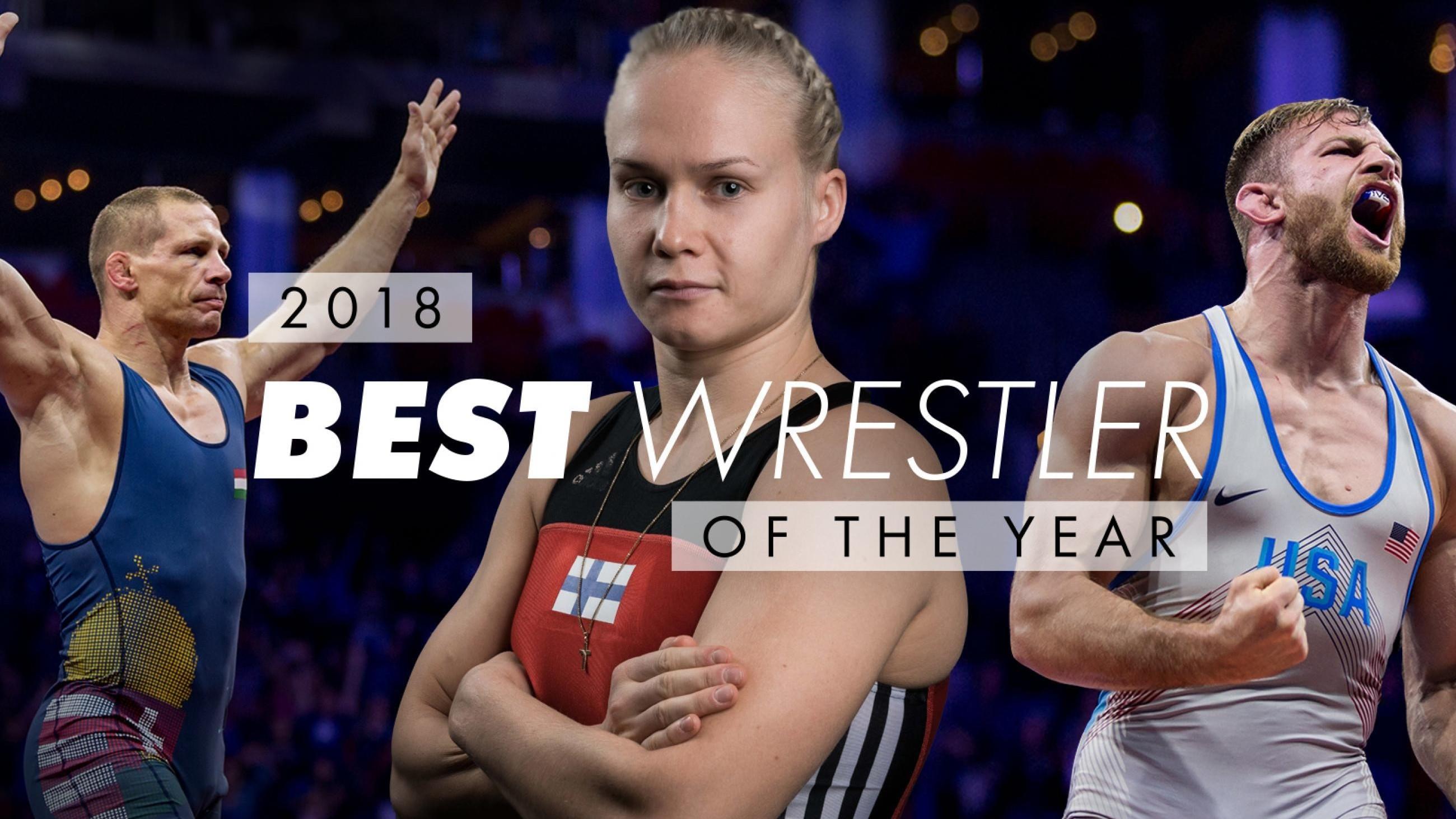 Bácsi Péter lett 2018-ban a legjobb kötöttfogású birkózó a világon