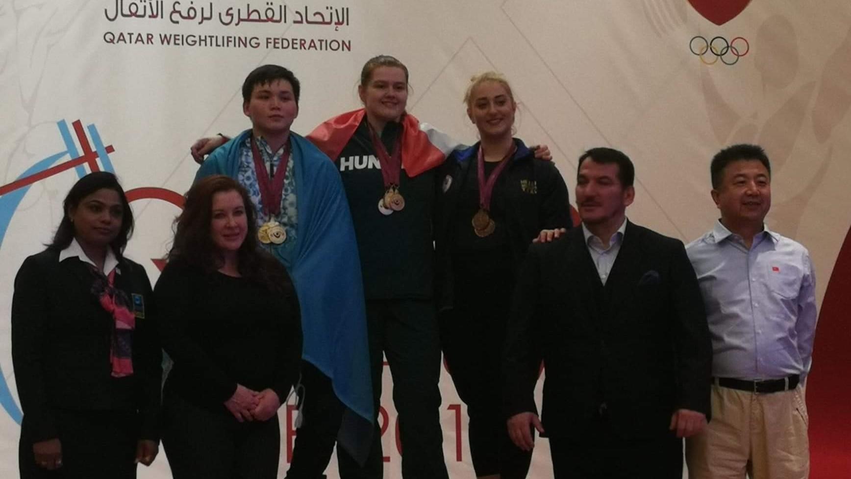 Magát Krisztina győzött, Nagy Péter negyedik lett Katarban