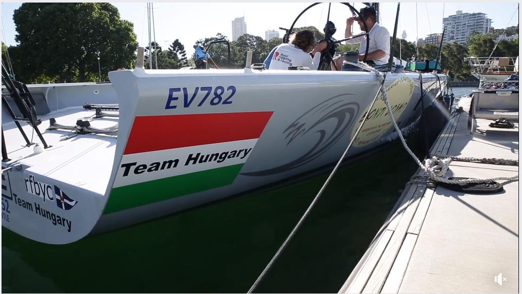 Sydney-Hobart - Magyar hajó is indul a versenyen