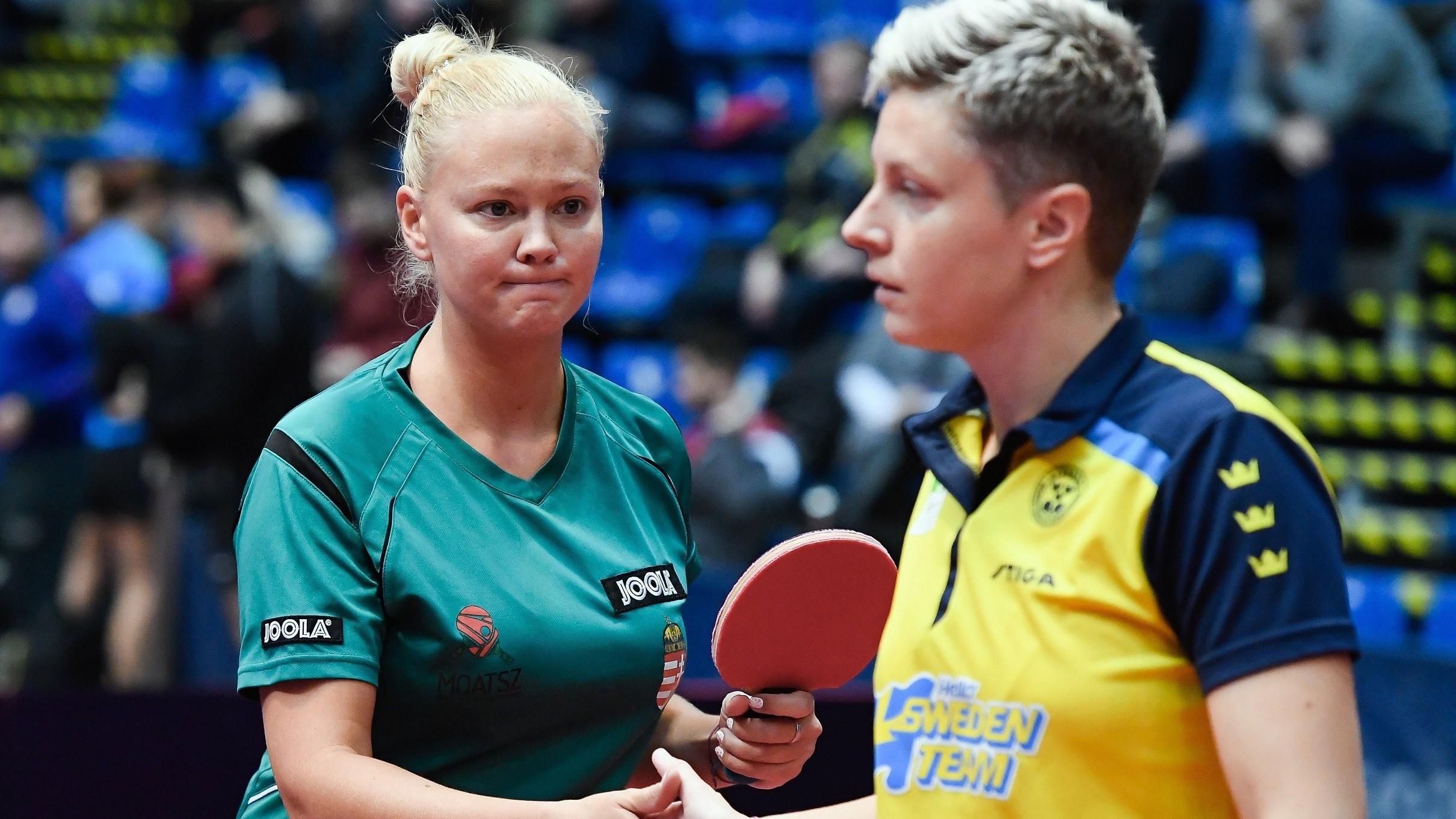 Asztalitenisz World Tour - Búcsúzott a negyeddöntőben a Póta, Ekholm kettős