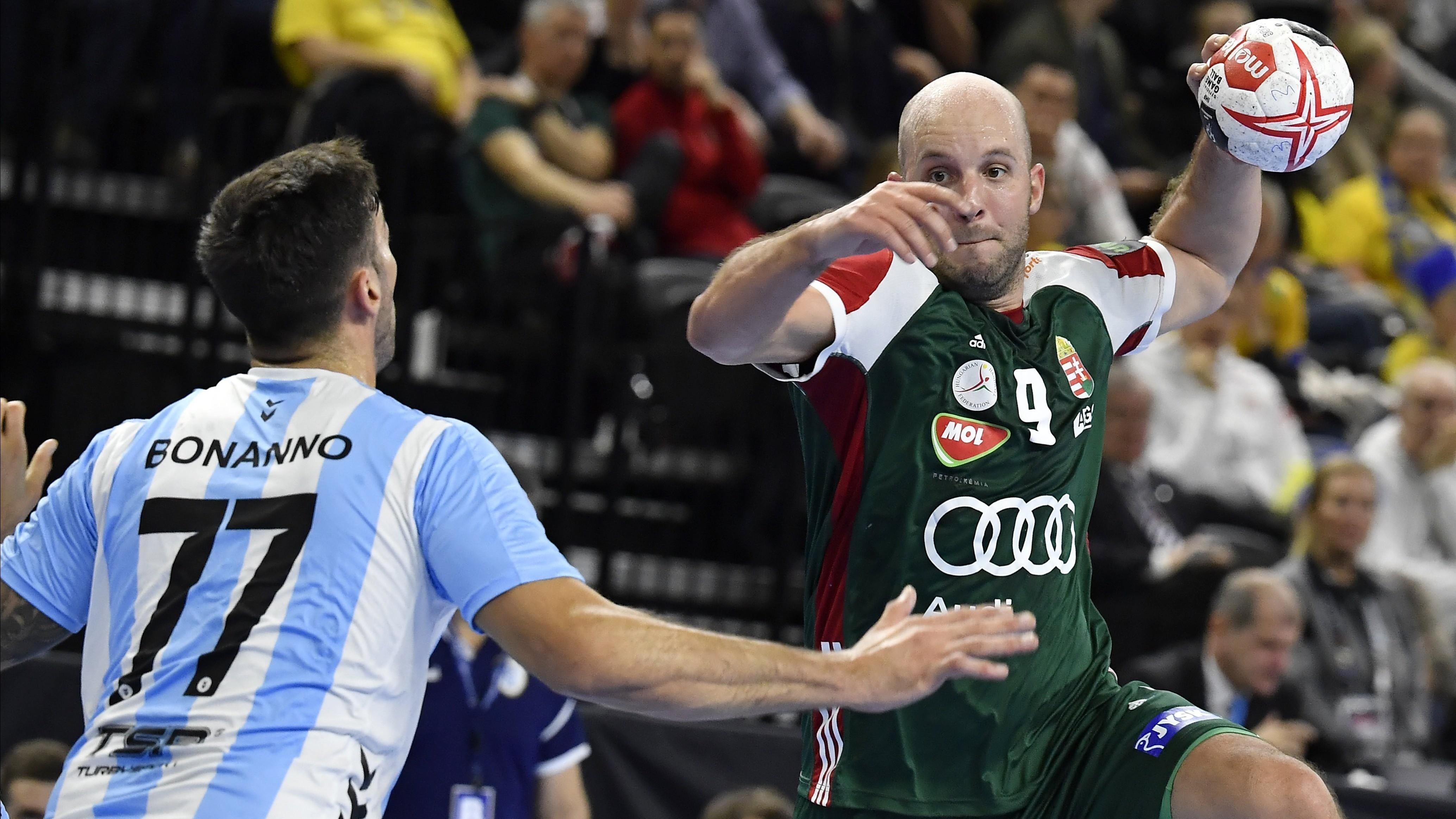 Férfi kézilabda-vb - A magyarok döntetlent játszottak Argentínával