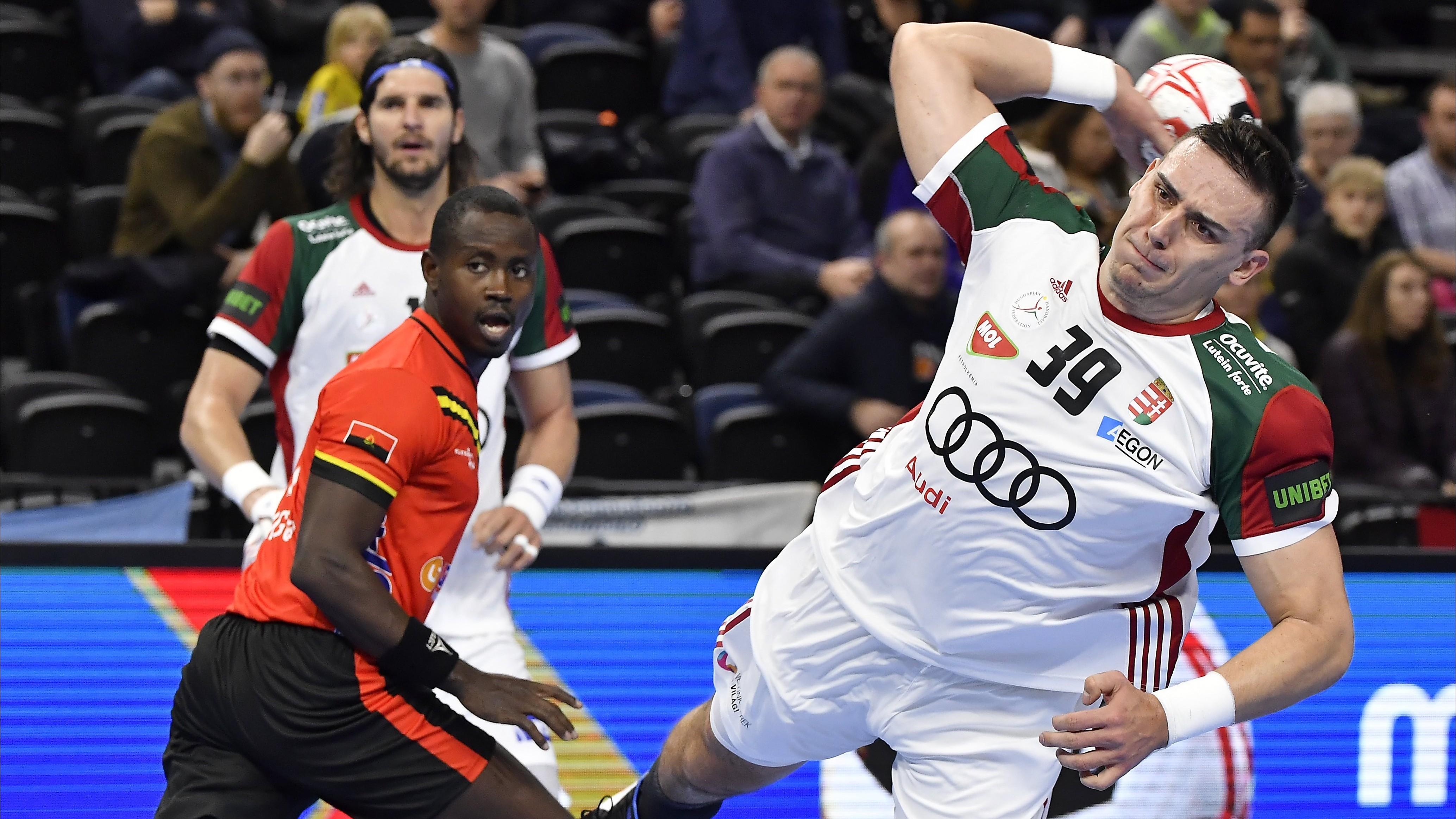 Győzelem Angola ellen a férfi kézilabda világbajnokságon