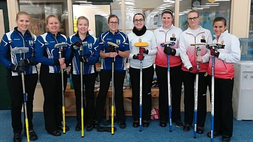 Nem jutott ki a vb-re a női curling-válogatott