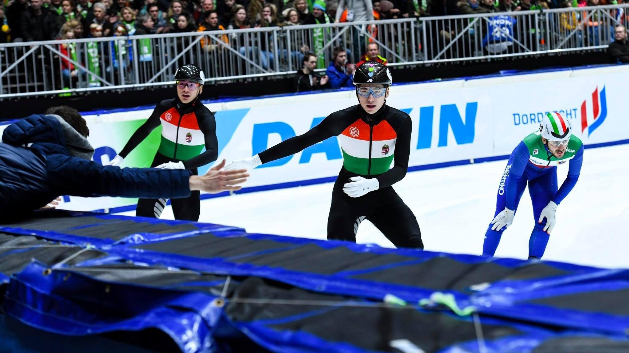 Történelmi magyar aranyak a dordrecht rövidpályás gyorskorcsolya Európa-bajnokságon
