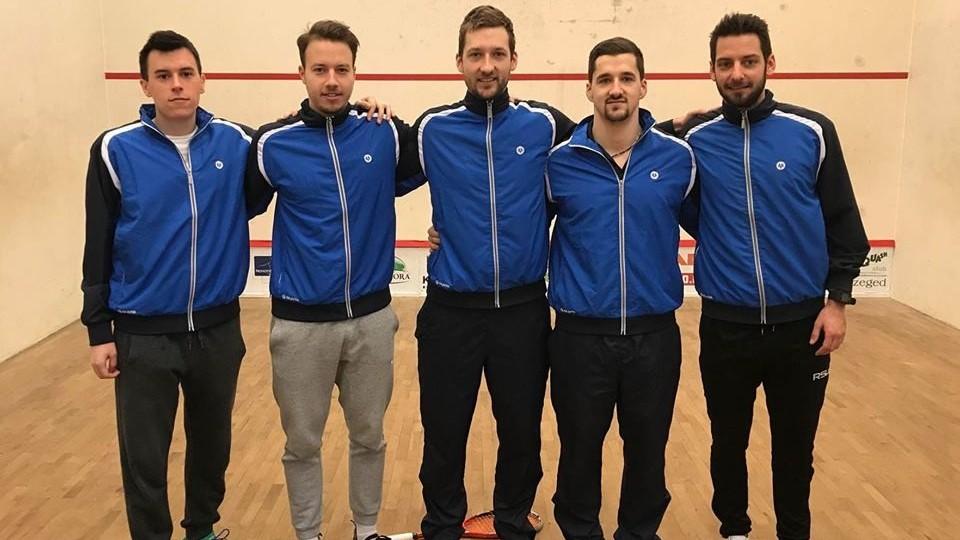 Vidux és Squashberek sikerek a csapatbajnokságon