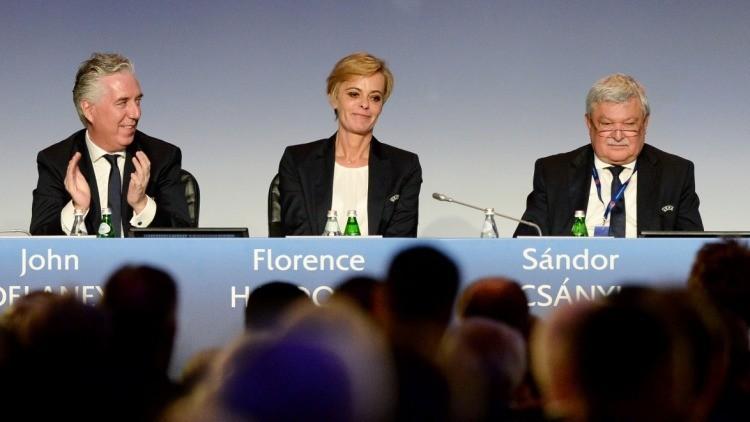 Csányi Sándor újabb négy évre UEFA vb-tag, illetve UEFA- és FIFA-alelnök lett Rómában