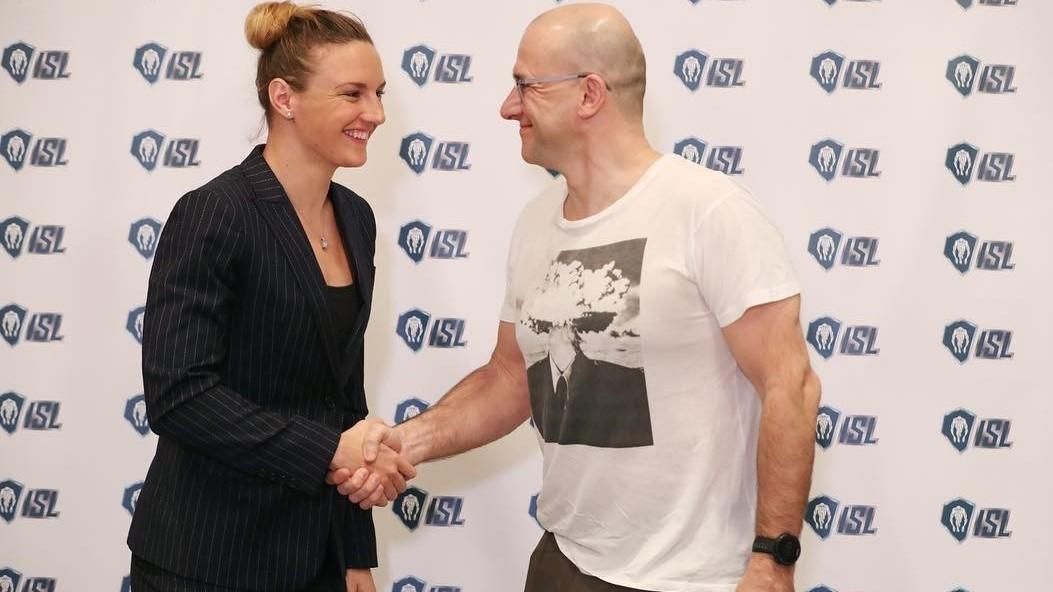 Hosszú Katinka a Nemzetközi Úszó Liga egyik nagykövete