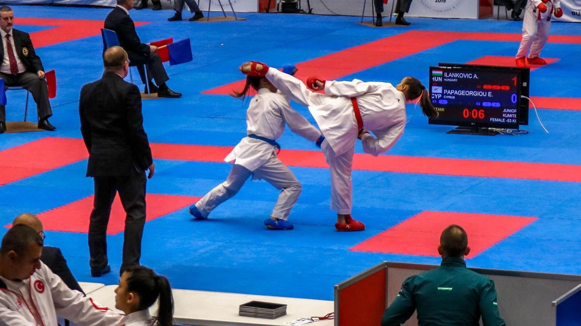 Sikeres utánpótlás karate Eb