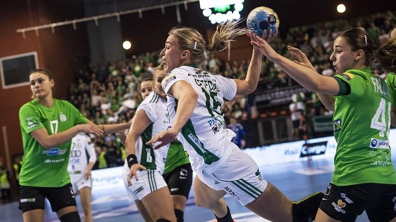 Női kézilabda BL - Döntetlent játszott a Ferencváros a Győrrel