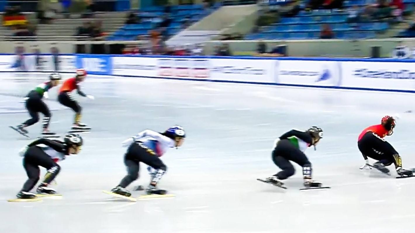 Rövidpályás gyorskorcsolya vk - A magyar vegyesváltó ezüst-, a férfi bronzérmes