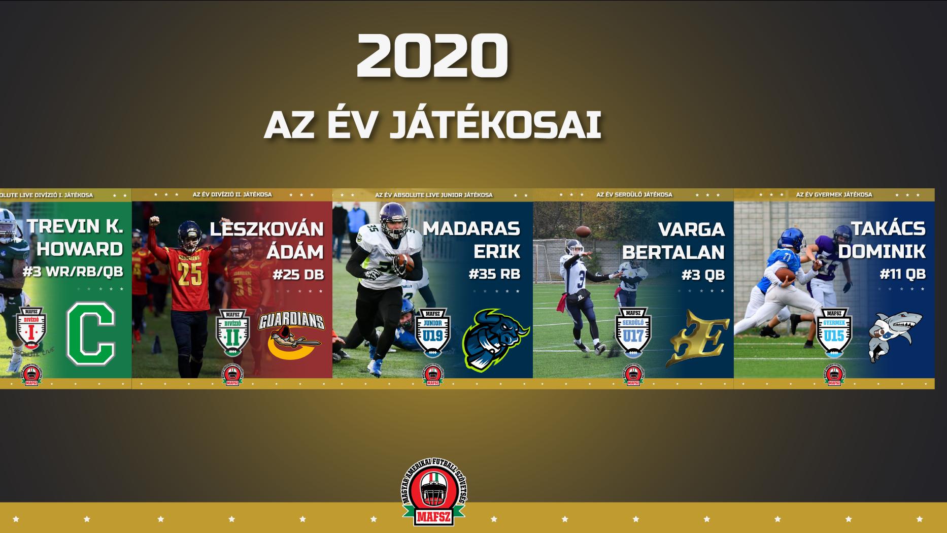 Megválasztották a magyar amerikai focisták legjobbjait