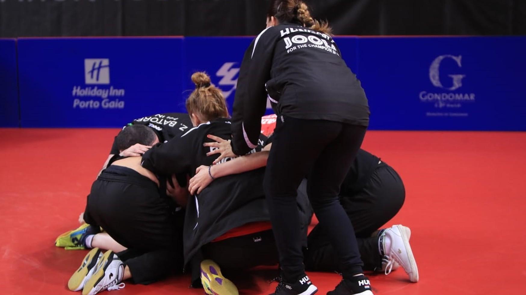 Olimpiai kvótát szerzett a női asztalitenisz-válogatott