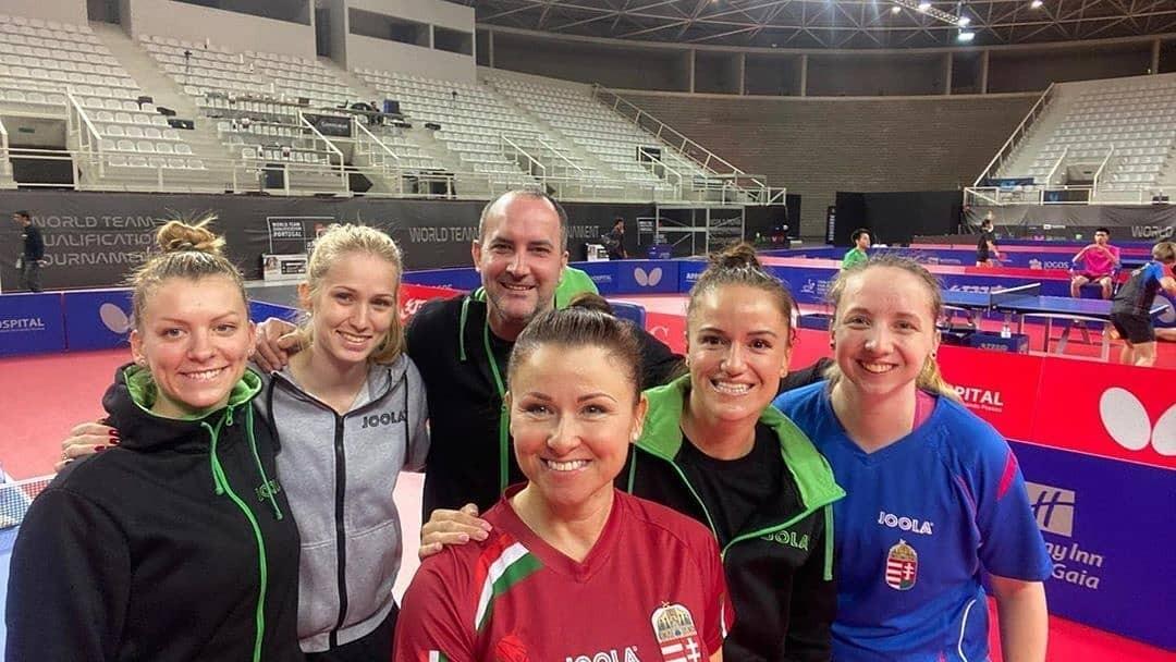 Olimpiai kvótát szereztek az asztaliteniszező hölgyek