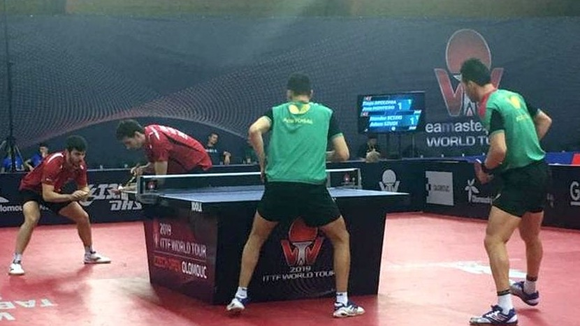 Asztalitenisz World Tour - Az Ecseki, Szudi páros az elődöntőig jutott
