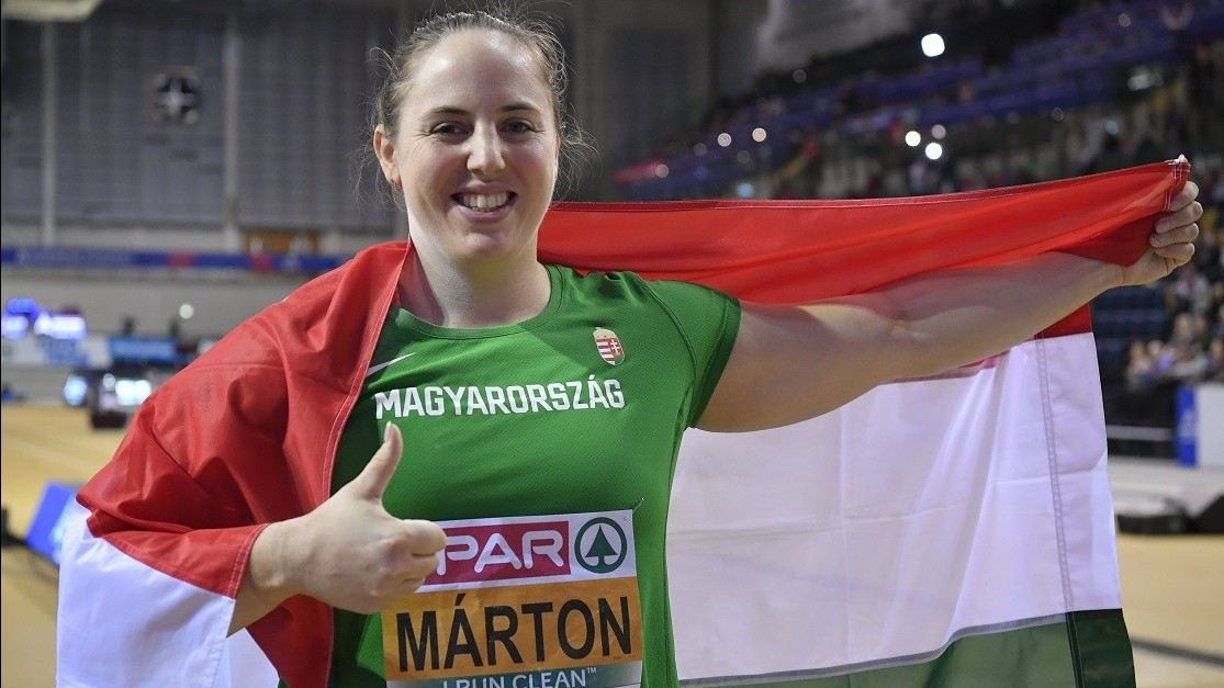 Márton Anita bronzérmes a glasgow-i Fedettpályás atlétikai Eb-n!