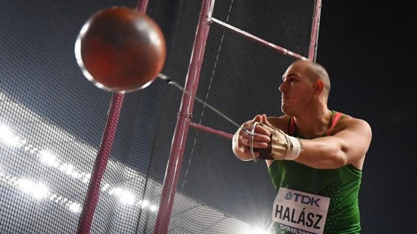 Halász Bence bronzérmes a dohai atlétikai világbajnokságon