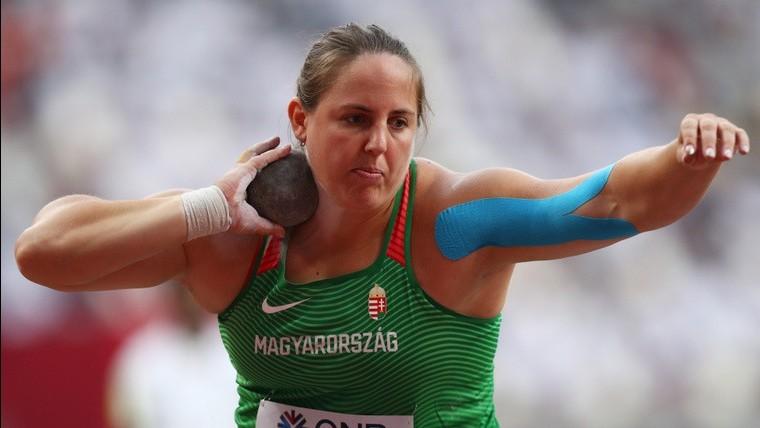 Márton Anita ötödik lett Dohában