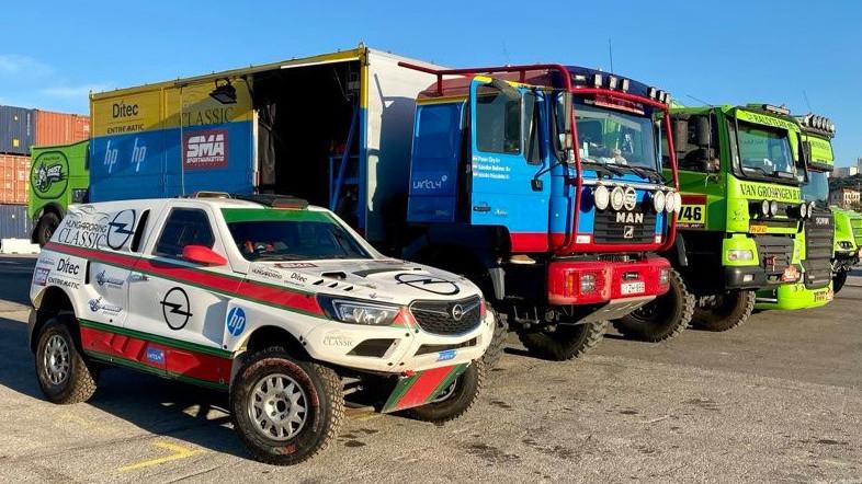 Magyarokkal indult a Dakar-rali prológja