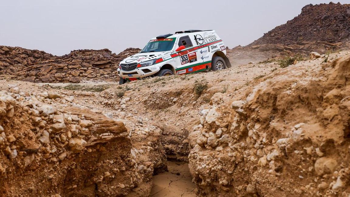 Szalayék szomorú napja a Dakaron