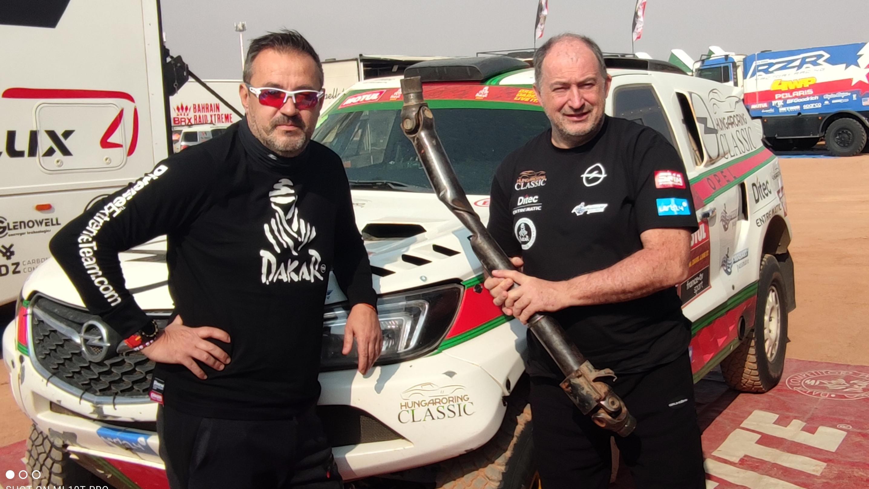 Szalay Balázsék feladták a Dakart