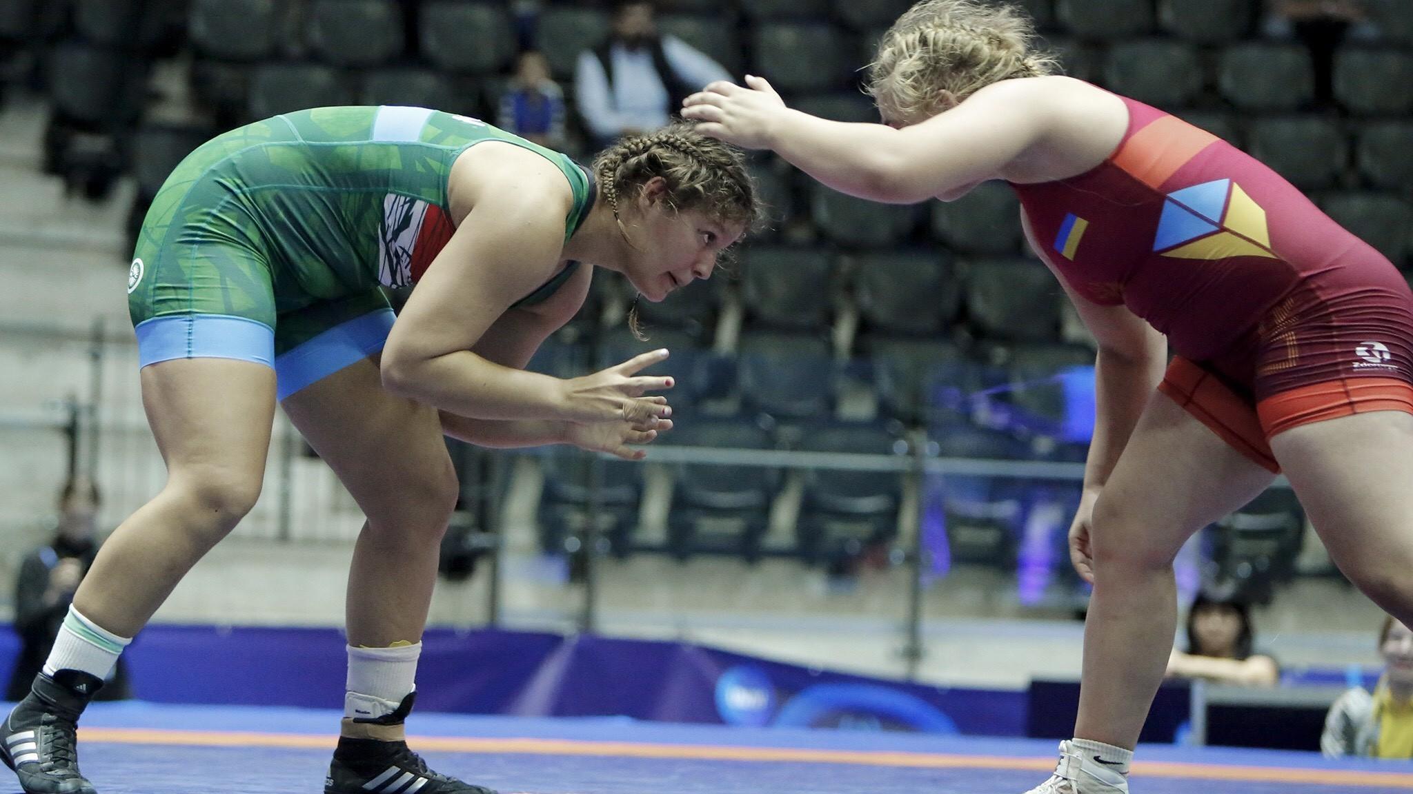 Nagy Bernadett bronzérmes a junior vb-n