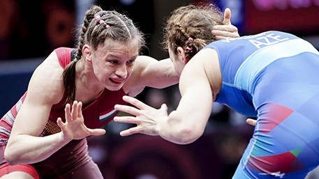 Birkózó Eb - Barka Emese Európa-bajnok, Sastin Marianna bronzérmes