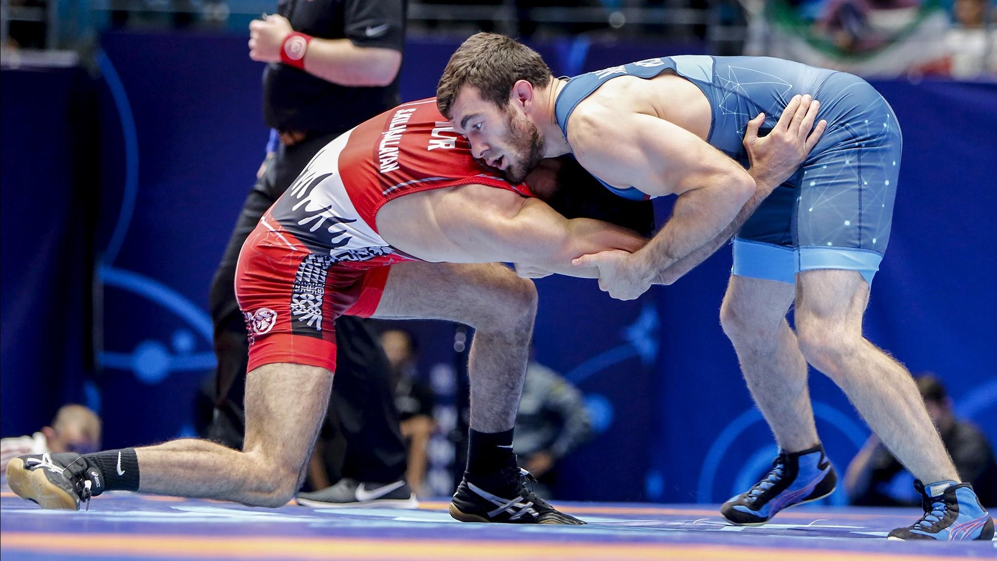 Muszukajev Iszmail a címvédőt legyőzve bronzérmes a birkózó vb-n!