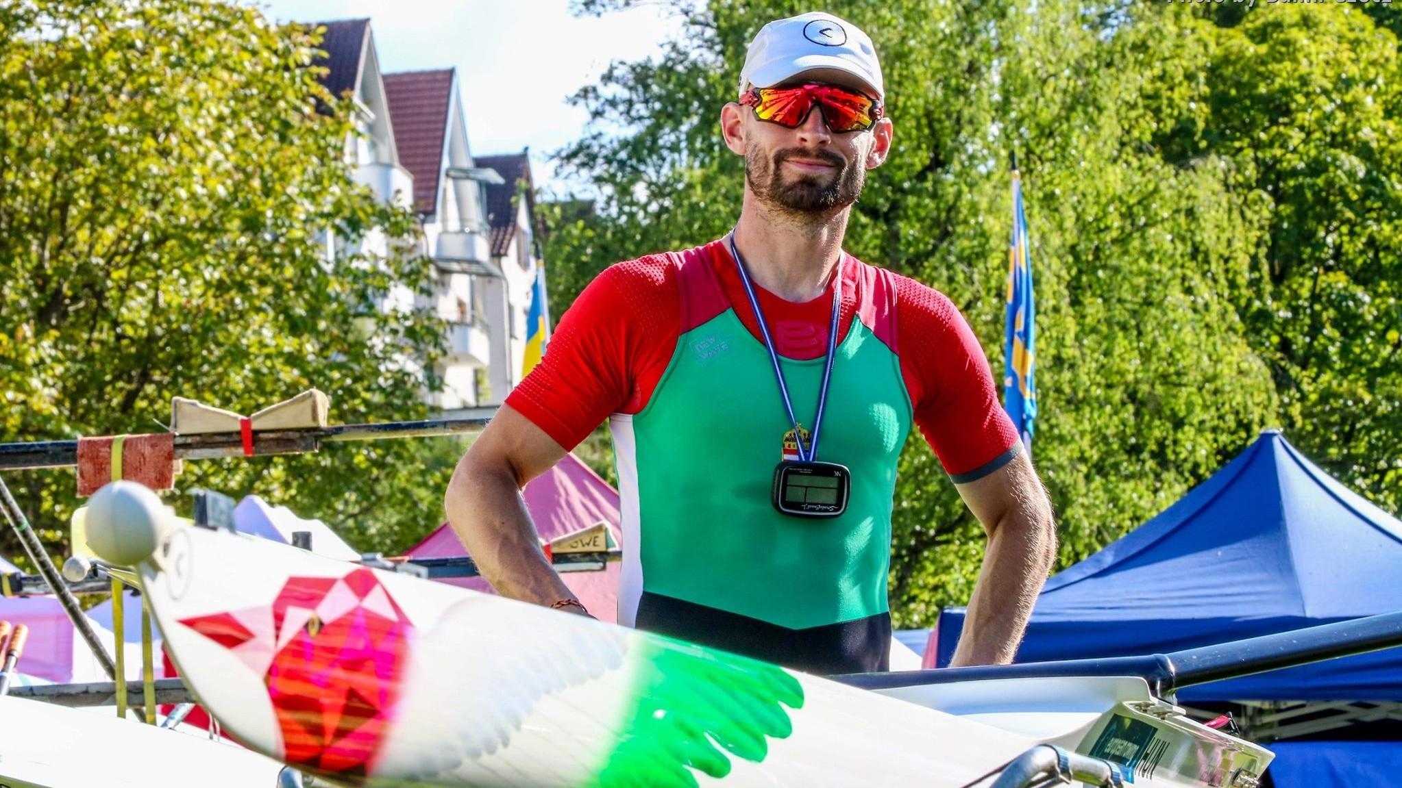 Evezős Eb - Galambos Péter döntős Luzernben