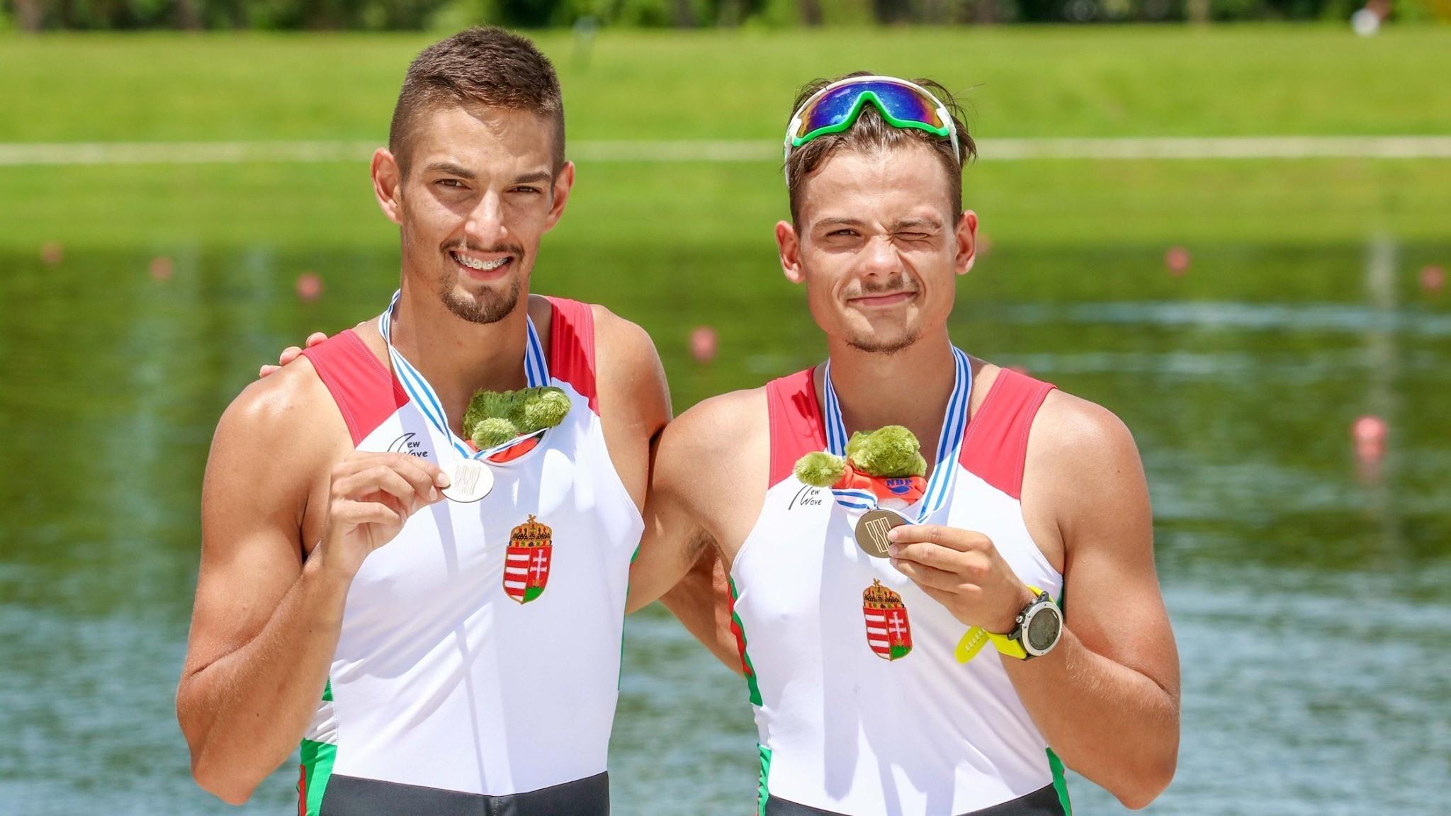 Bronzérmes a Szabó-Furkó könnyűsúlyú kettes az u23-as evezős világbajnokságon!