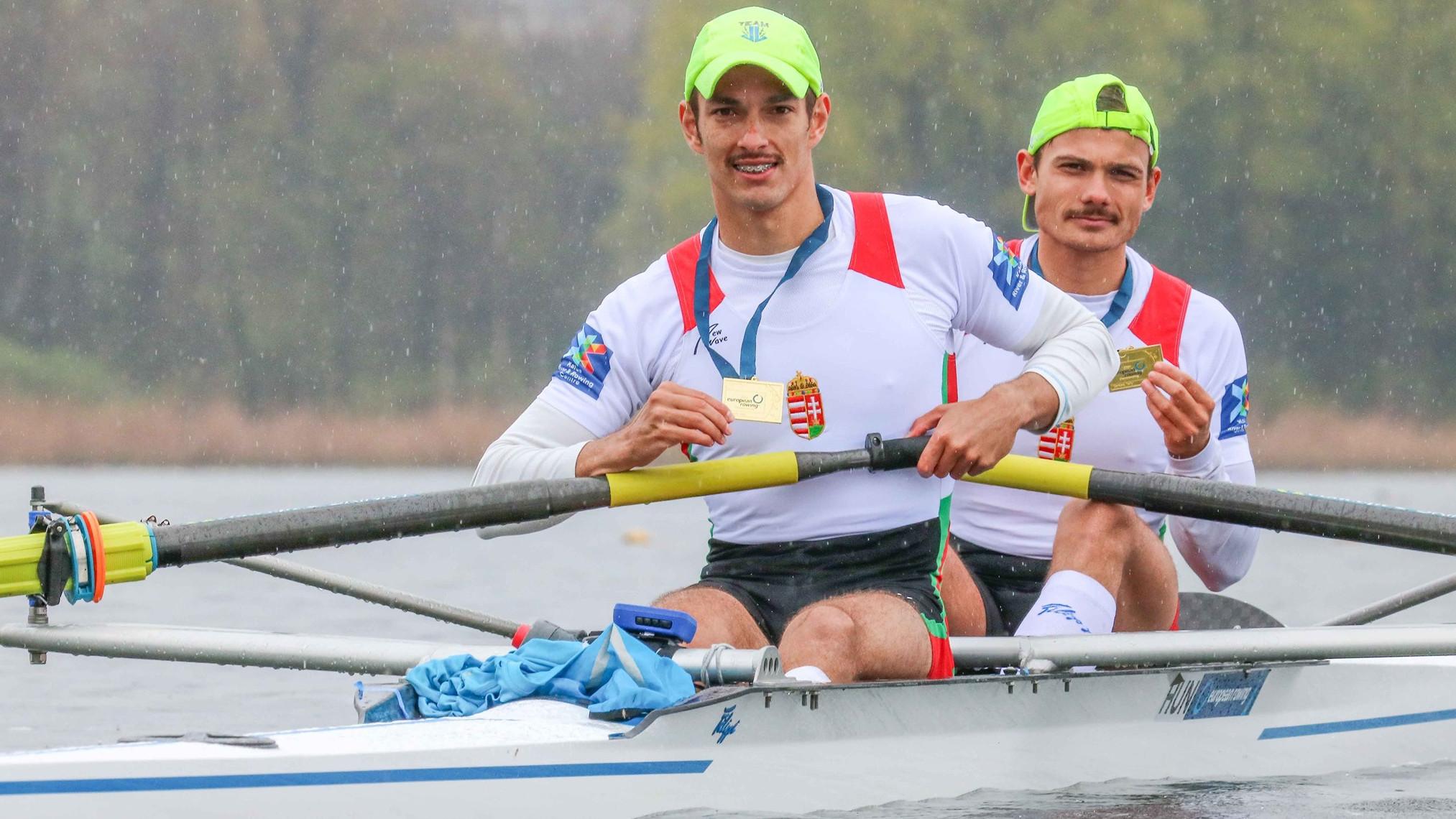 Két magyar aranyérem az evezős Európa-bajnokságon