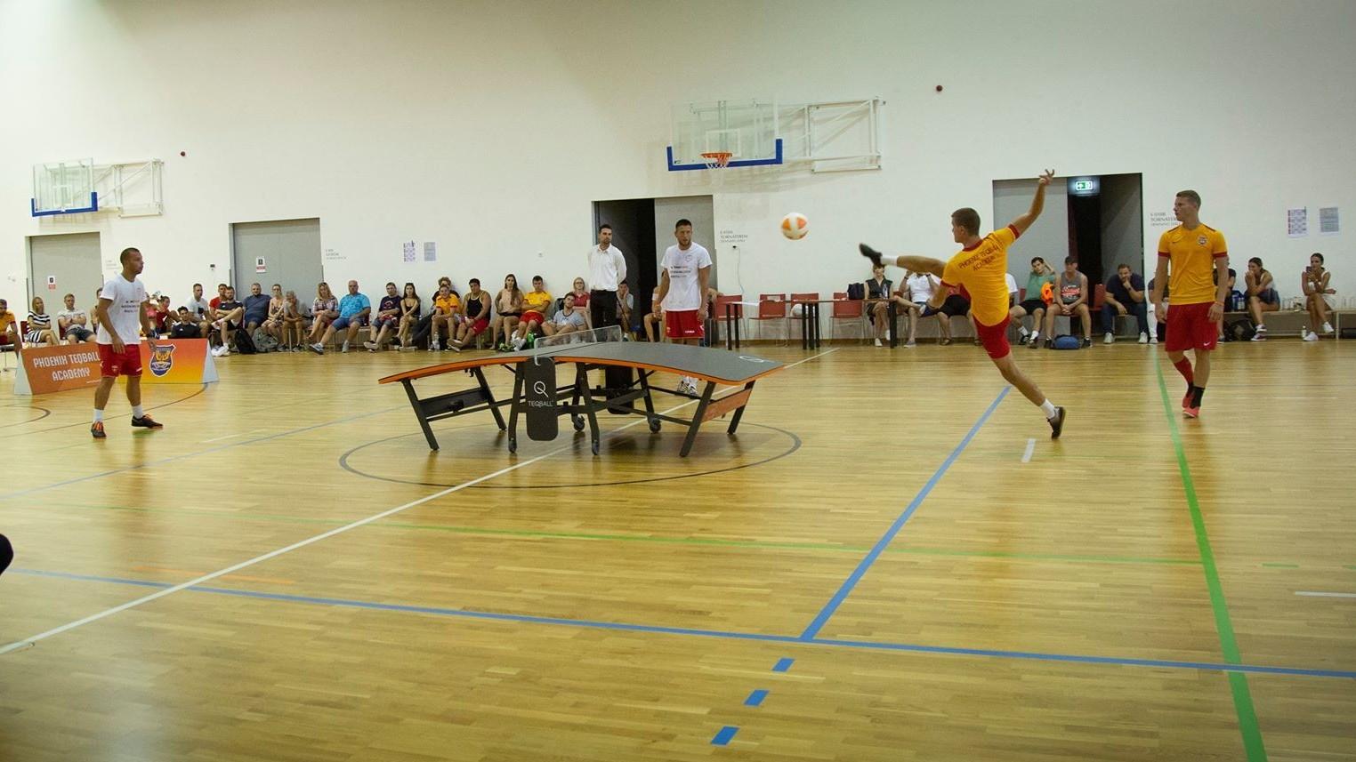 A Blázsovics-Bányik kettős legyőzte a teqball-világbajnokokat