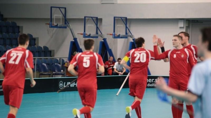 Legyőzte Belgiumot a helyosztón a magyar floorball válogatott
