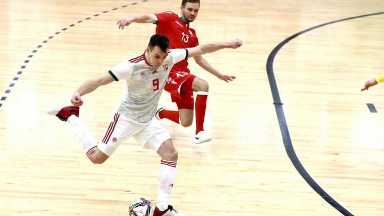 Győzött a magyar futsal-válogatott Fehéroroszország ellen