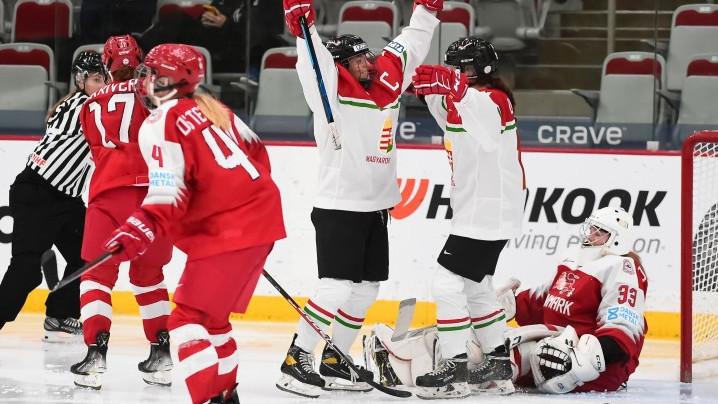 Győzelemmel zárta az elit világbajnokságot a női jégkorong-válogatott