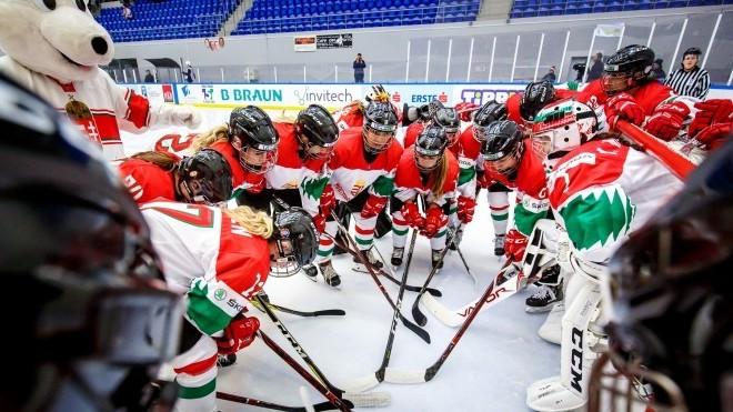 Női jégkorong divízió 1/A világbajnokság - Szenzációs játékkal verte Dániát a magyar válogatott