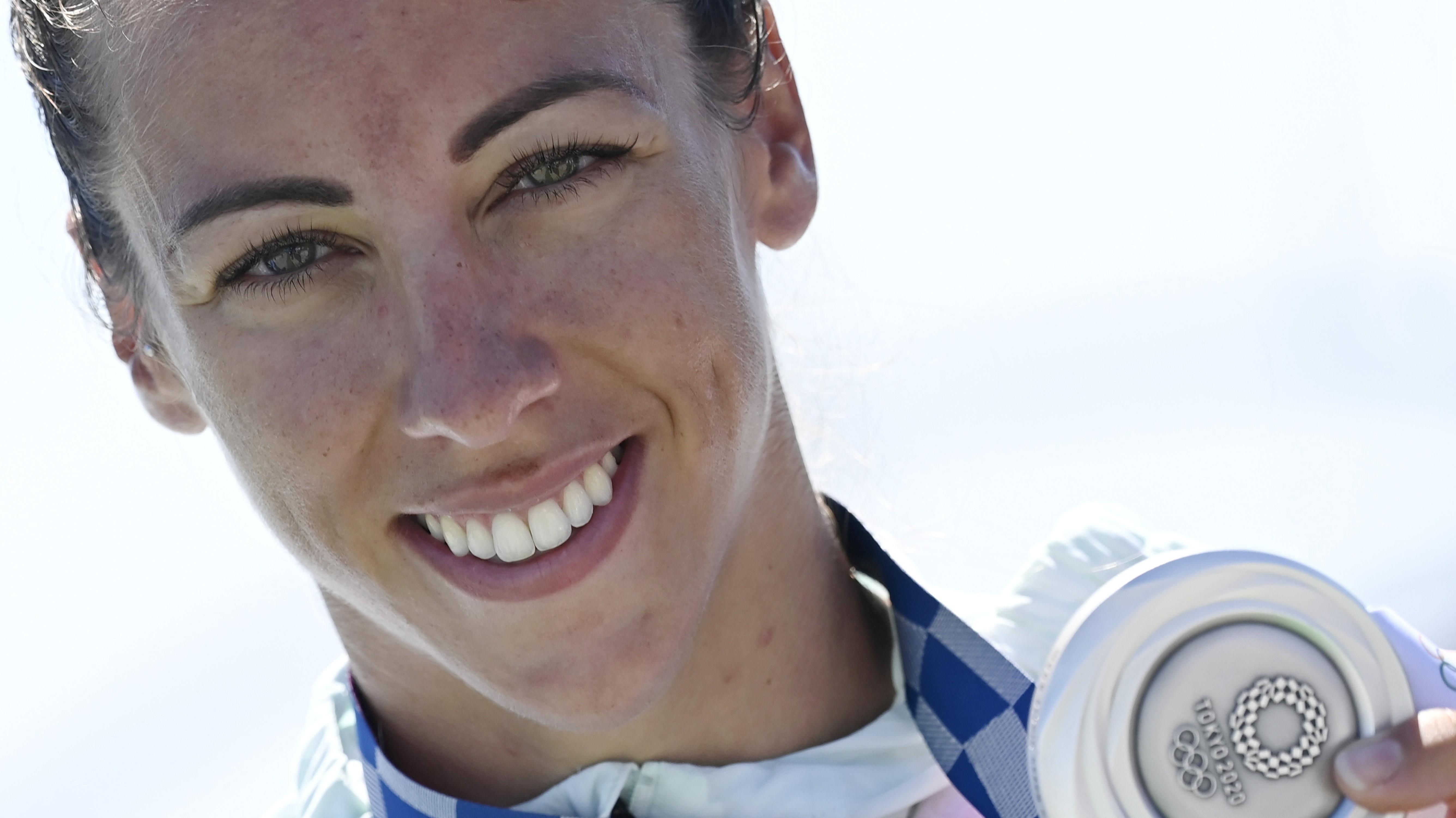 Csipes Tamara második lett női egyesben