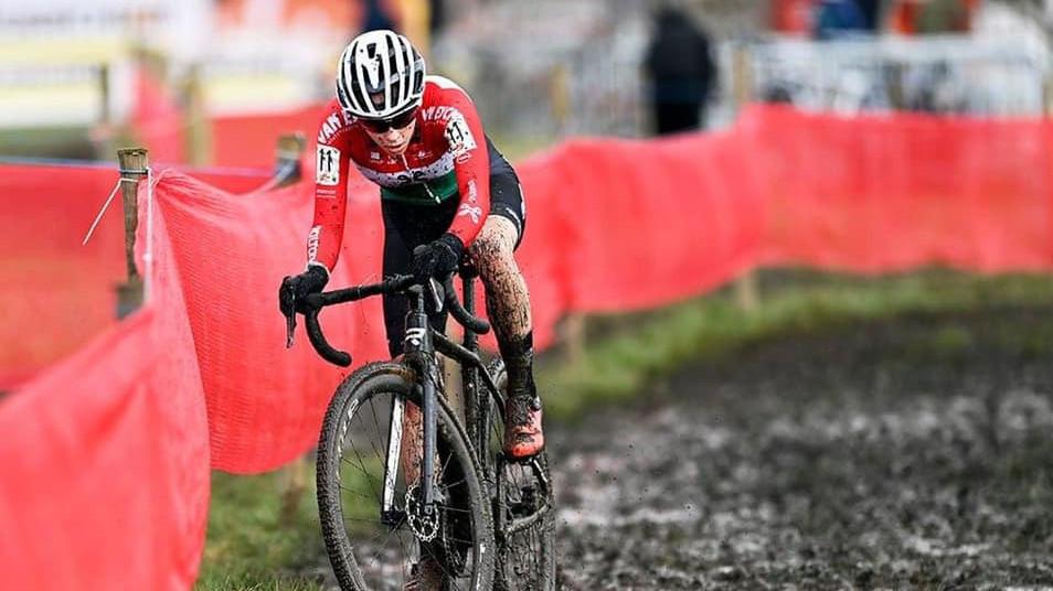 Vas Kata Blanka Belgiumban nyert terepkerékpáros versenyt