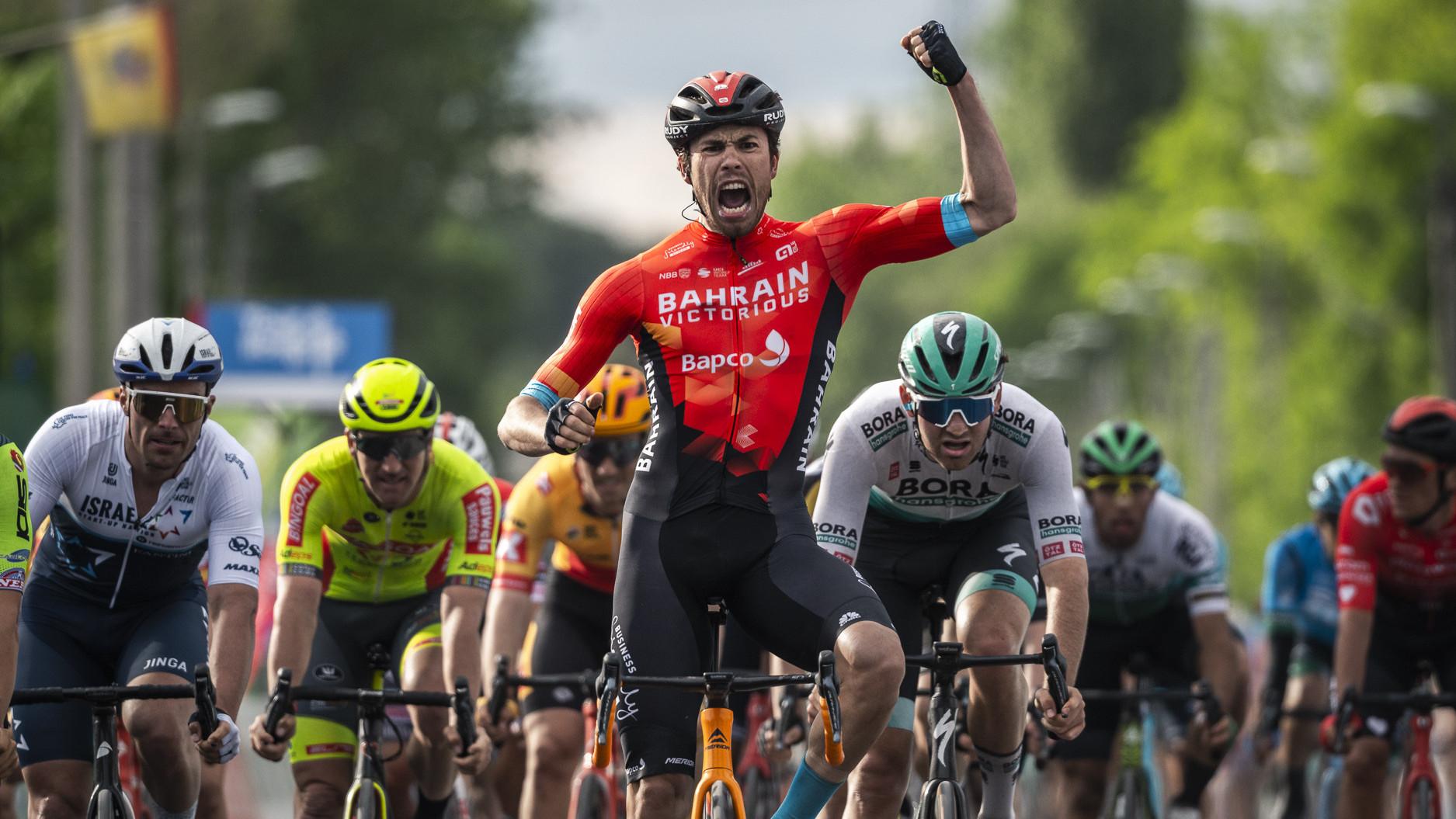 Sprintgyőzelem a 2021-es Tour de Hongrie első szakaszán